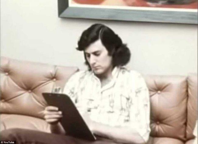 该照片摄于盖勒1973年参与实验时