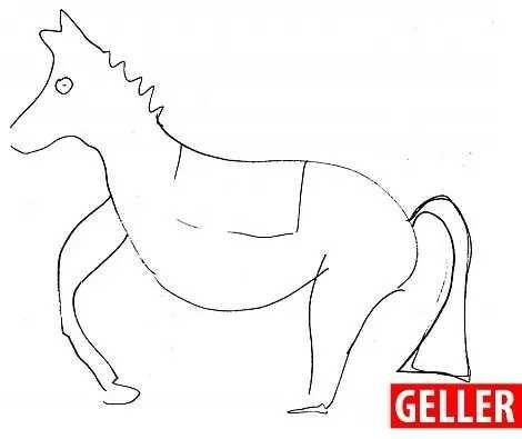 盖勒画的马
