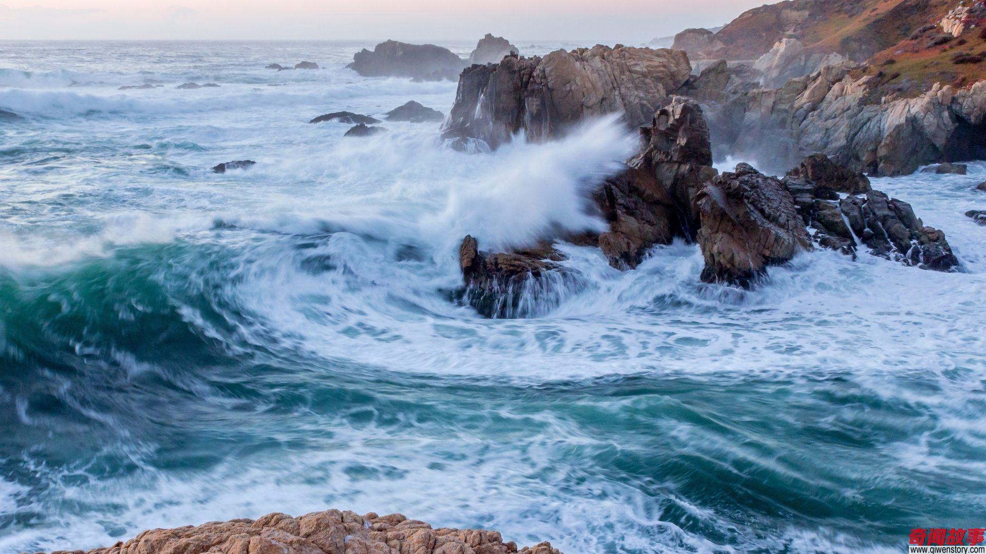 美国加州自然风光,独特的美.